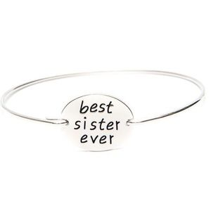 Jewelry - Best Sister Ever Bangle